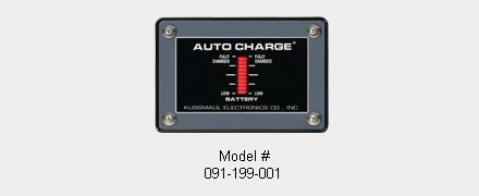 optinal indicators for auto charge 12 ho