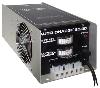 KUSSMAUL Auto Charge 20/20 40A total: 20A battery charger, 20A battery saver