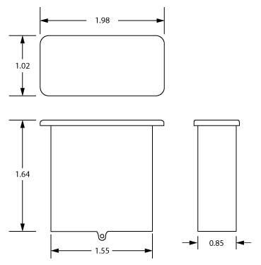 091-219-N outline drawing