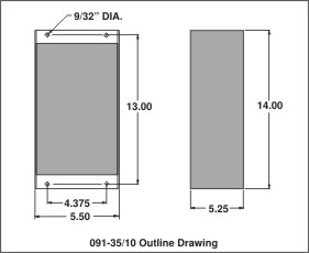 outline drawing 091-35/10