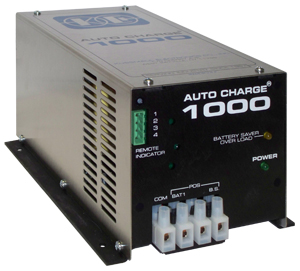 KUSSMAUL Auto Charge 1000 18A total: 15A battery charger, 3A battery saver