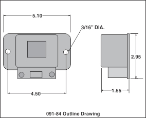 outline drawing auto throttle 1