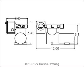 outline drawing 091-9-12v