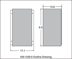 outline drawing 430-1230-0