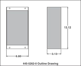 outline drawing 445-5262-0