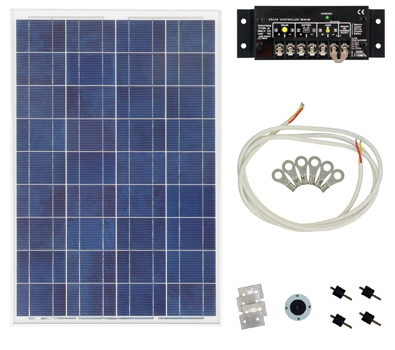 KUSSMAUL Solar Power Charging System