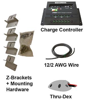 solar panel hardware